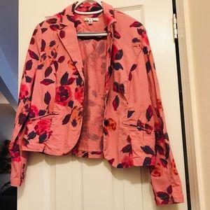 Cabi floral blazer- size 10